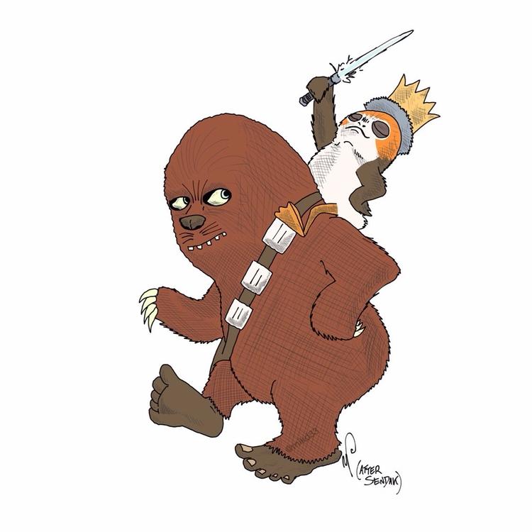 Artist celebrates Jedi' pop cul - bonniegrrl | ello