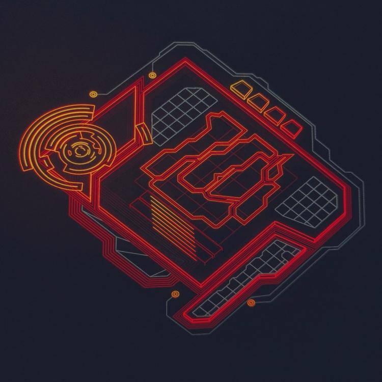Legacy Pulse Transducer  - hologram - mjmurdock | ello