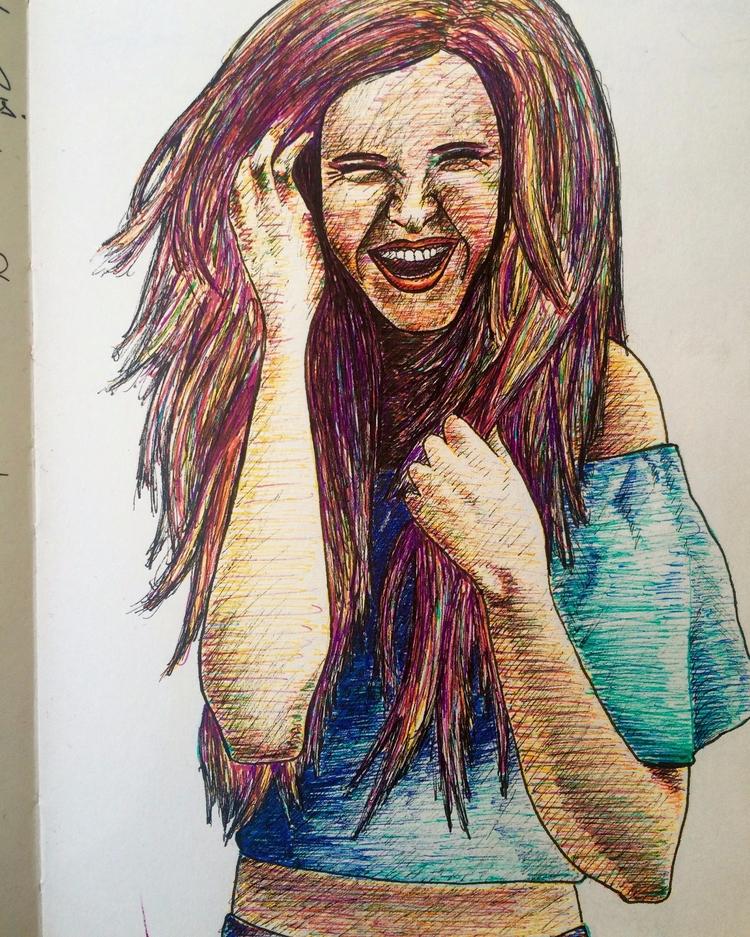 drawing, art, sketch, portrait - betsykevans | ello