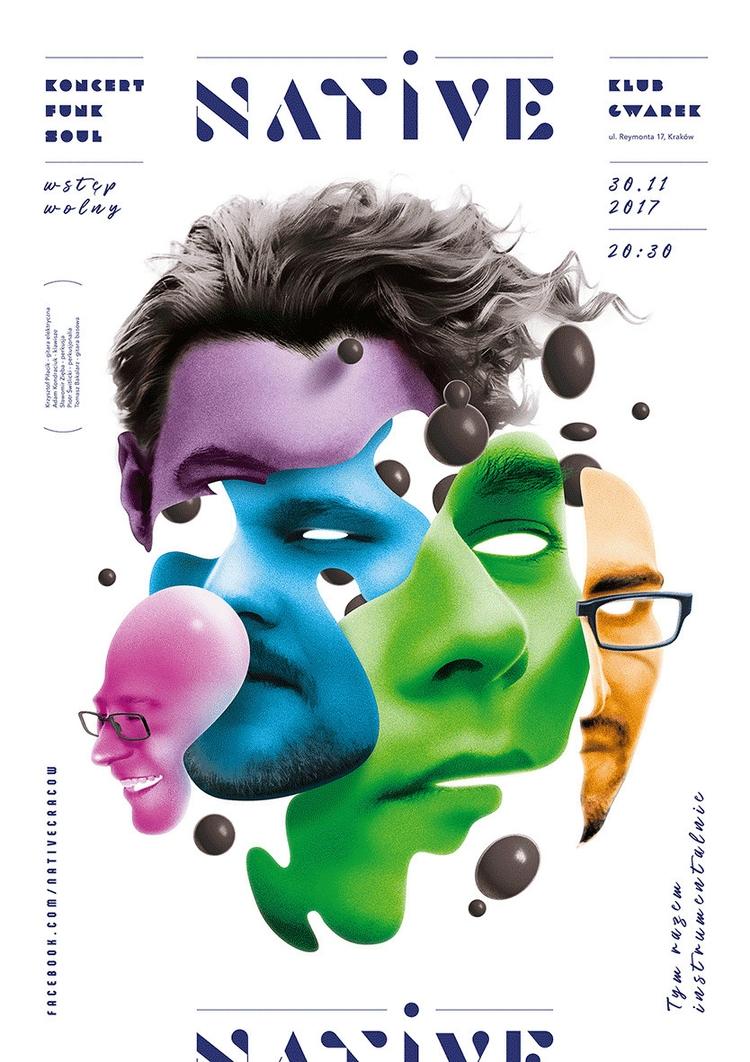poster, print, band, funk, soul - t0mcze | ello