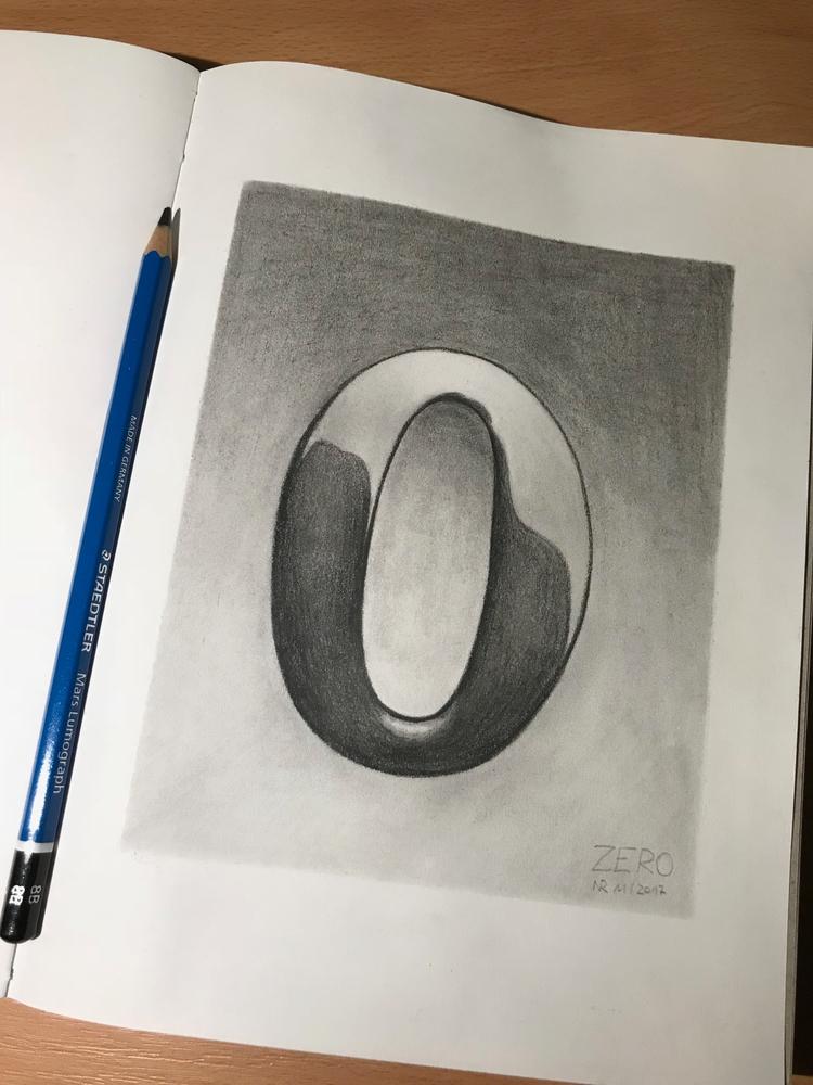 Graphite Pencil paper 16 21.5 c - kenazmedia | ello