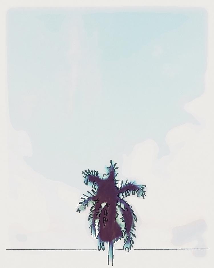 Palm Tree Line Apps - mikefl99, ello - mikefl99 | ello