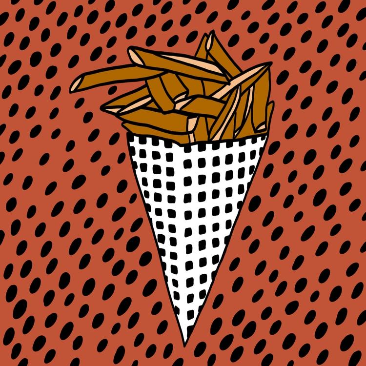 FriesBeforeGuys, food, digitalart - tlvbirdie | ello