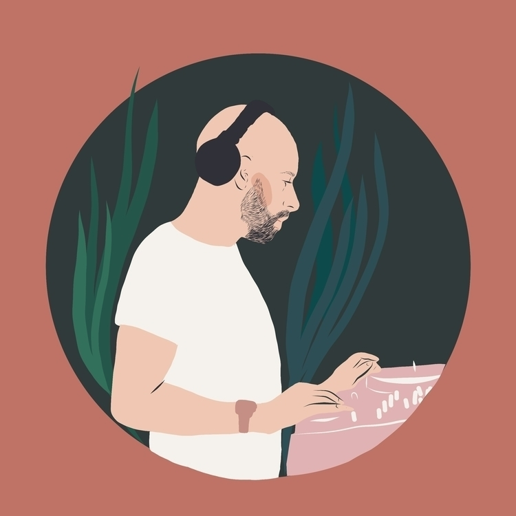 DJ time - illustration - michellemildenberg | ello