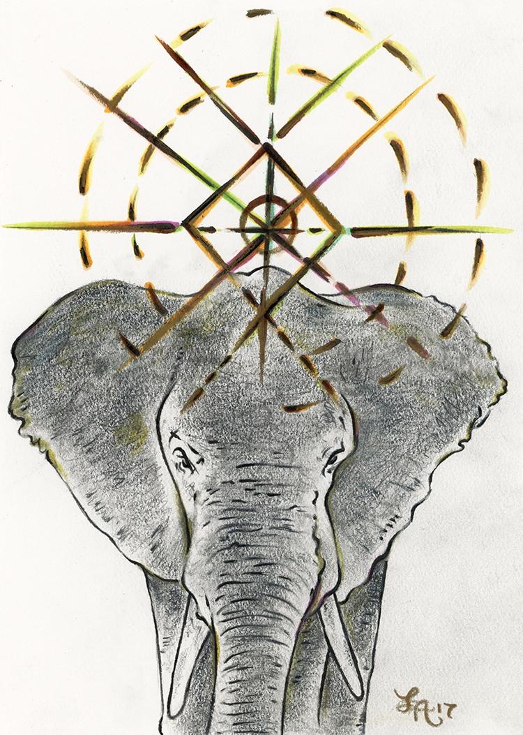 Ello-phant// Elephants gentle,  - letters | ello