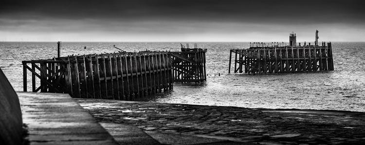 remains Heysham pier - bradverts | ello