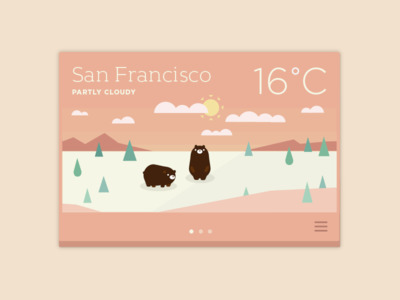 Part weather app idea animals d - ngaiyt | ello