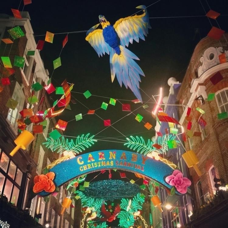 Carnaby Street festive glory - Christmas - estelleclarke | ello