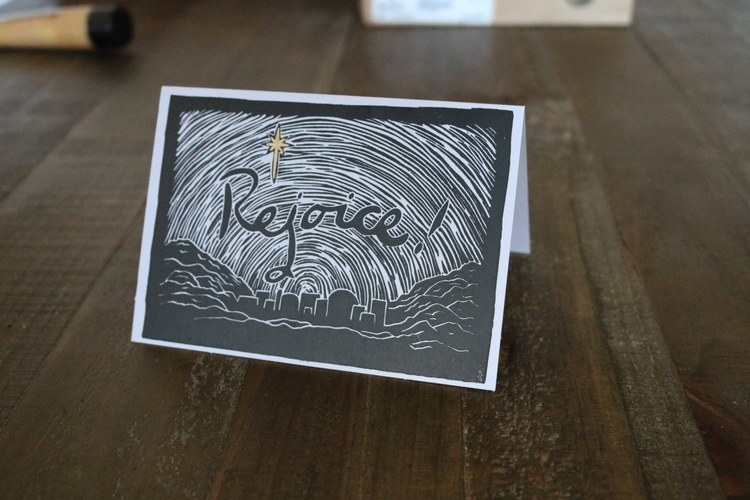 Printing loads Christmas cards  - zealaaay | ello
