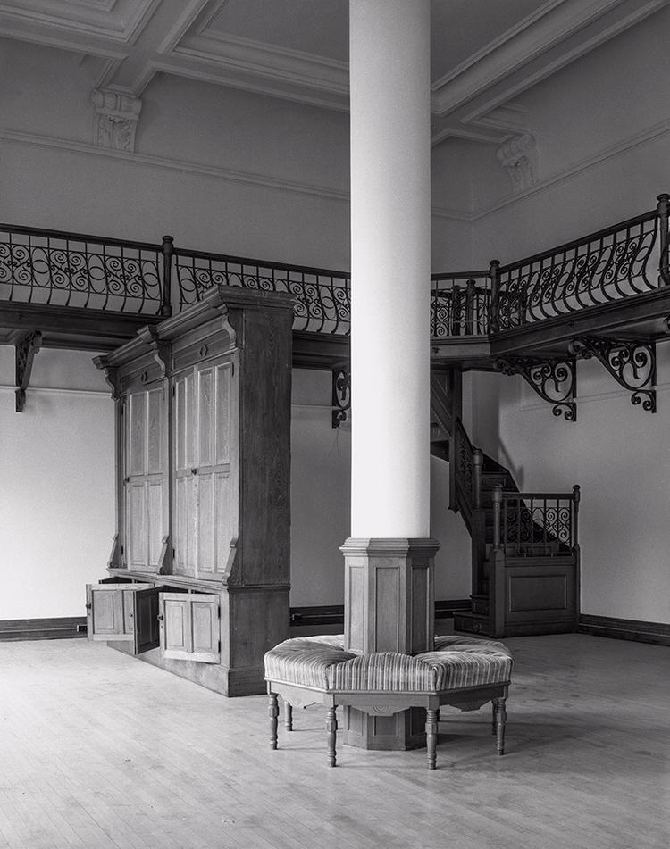 library interior, Foley Hall (r - frankfosterphotography | ello