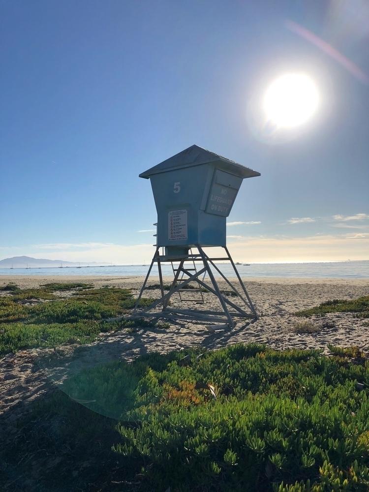 Lifeguard duty. East Santa Barb - rowiro | ello