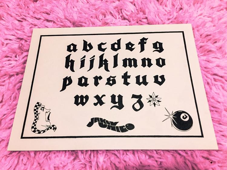Hand lettered Blackletter - jakovunico | ello