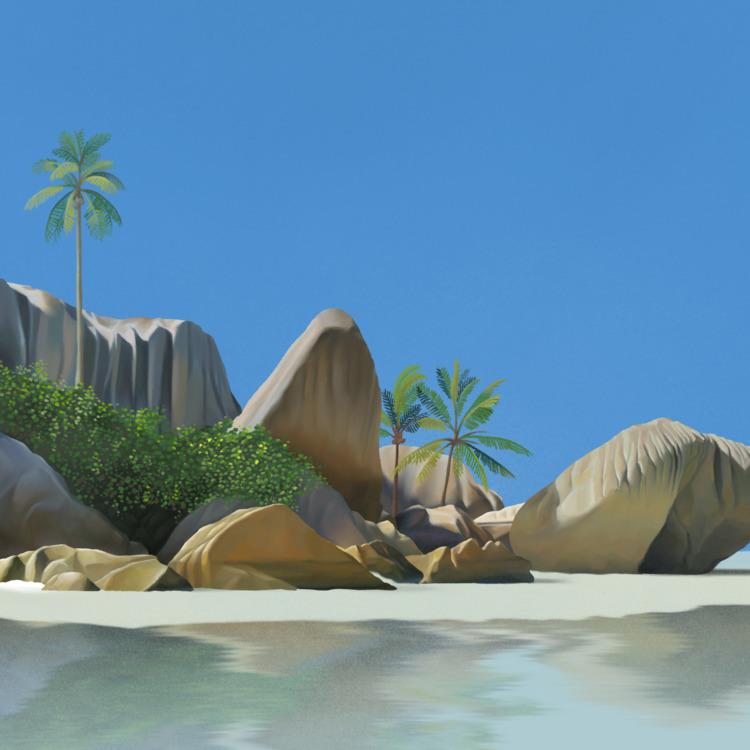 La Digue Island Seychelles. eas - butterflow | ello