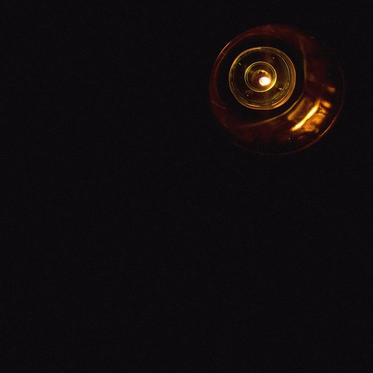 Golden View Candle, prt1 Moon - golden - mariyantod | ello