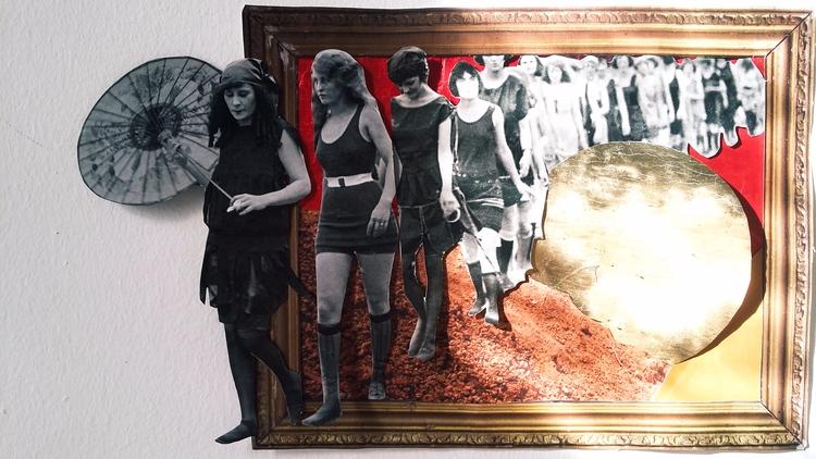 border. analog collage - elloart - esraesrakalk | ello