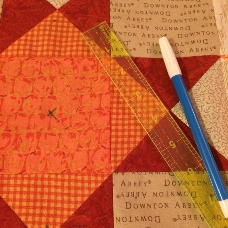FINALLY quilting quilt started  - mkkp_quilter | ello