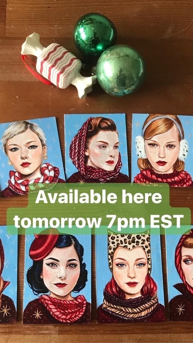 Tomorrow night 7pm EST mini pie - edithlebeau   ello