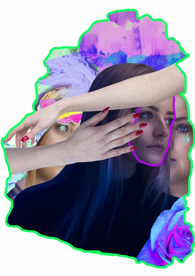 collage, digitalcollage, mixedmedia - jasminpelz | ello