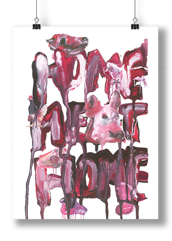 Home Meat Home. 2015 - meat, death - travisfruity | ello