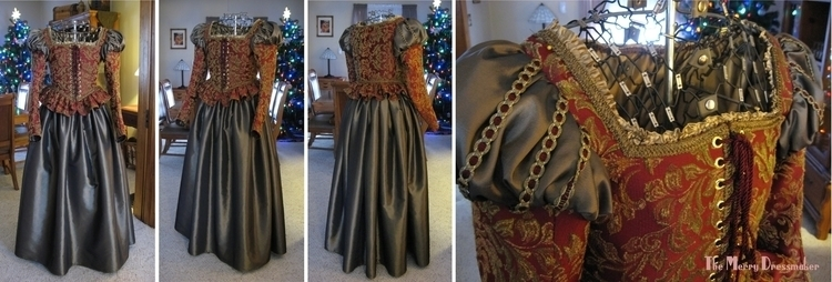 Madrigal gown bodice constructe - althornhill   ello