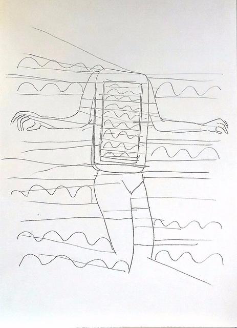 draving, art, electronic, desert - ivicacapan | ello