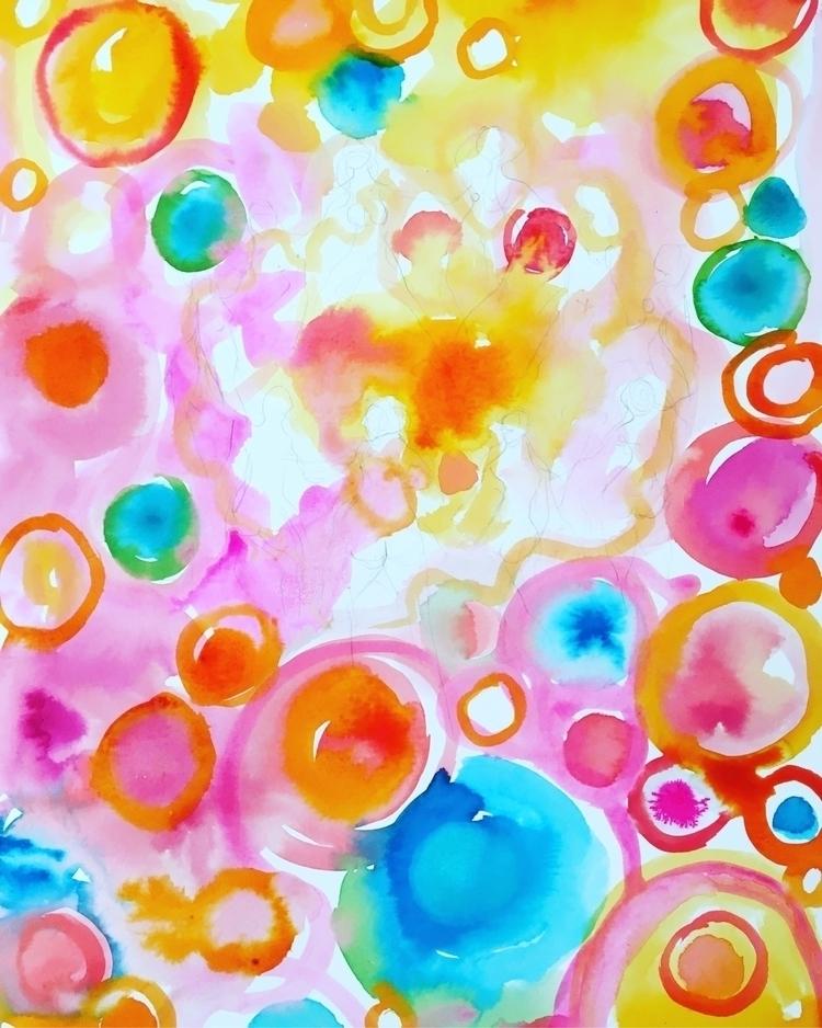 Abstract beginning - dancingcircle - arnabaartz | ello
