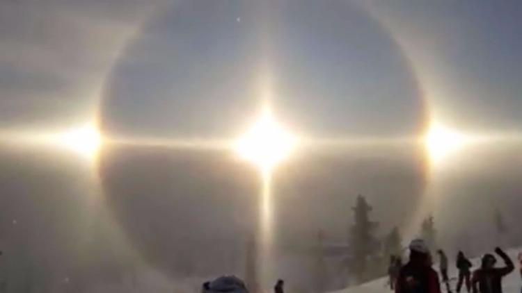 Halo solar: Extraño fenómeno me - codigooculto | ello