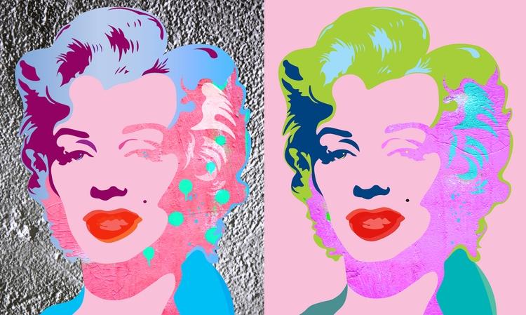 Marilyn Wall Collection N1-2 Ur - sandromartini | ello