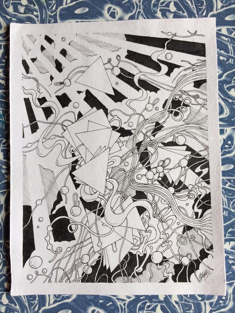 Doodle, Abstract, Pen, Ink - rakeshmalik91 | ello