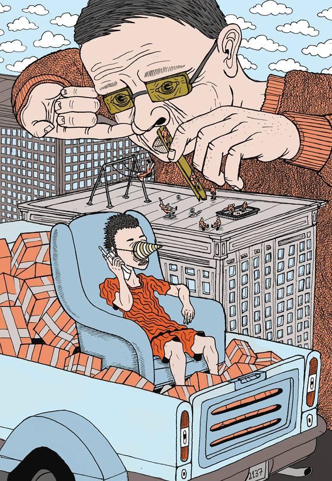 illustration, poster - kredenswproszku | ello
