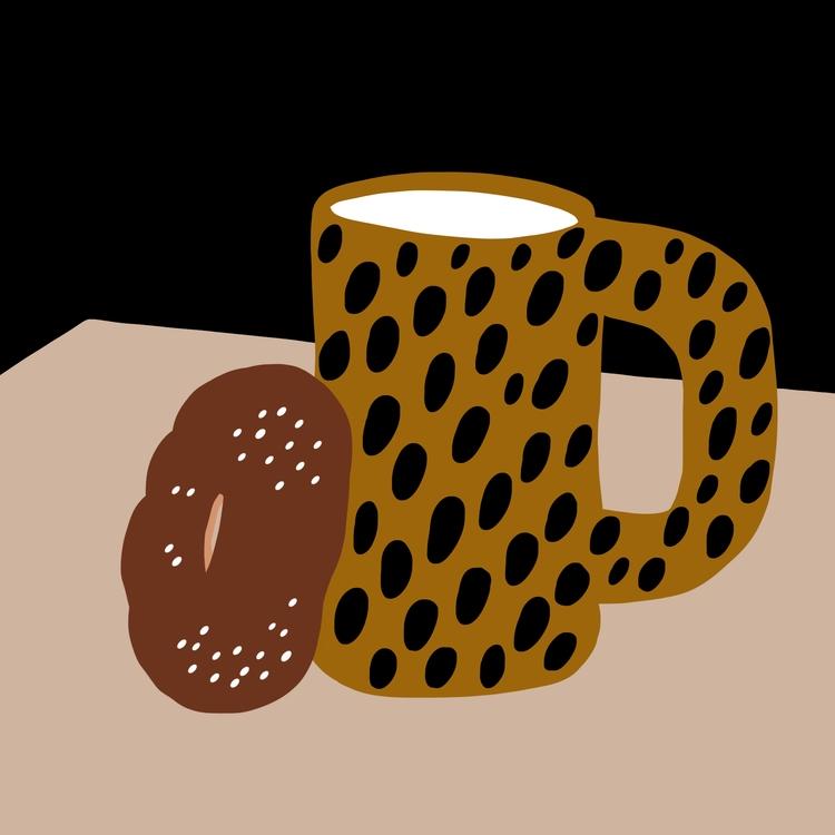 humpday, illustration, coffee - tlvbirdie | ello