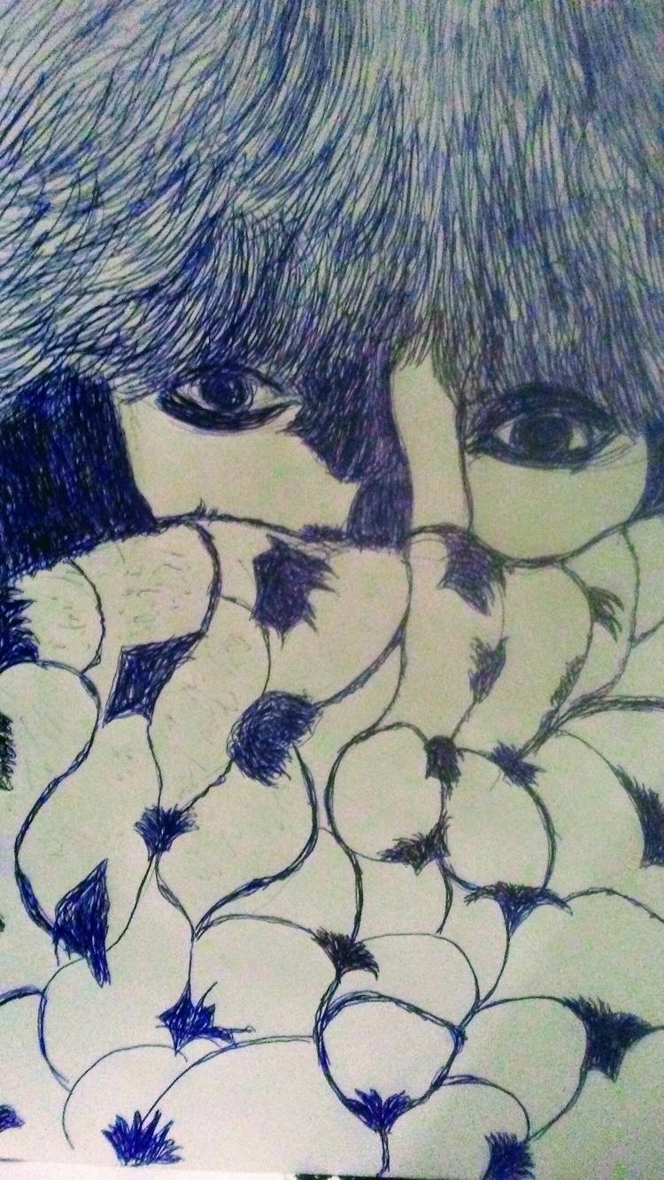 Winter Pen Drawing - kathryn_savino | ello