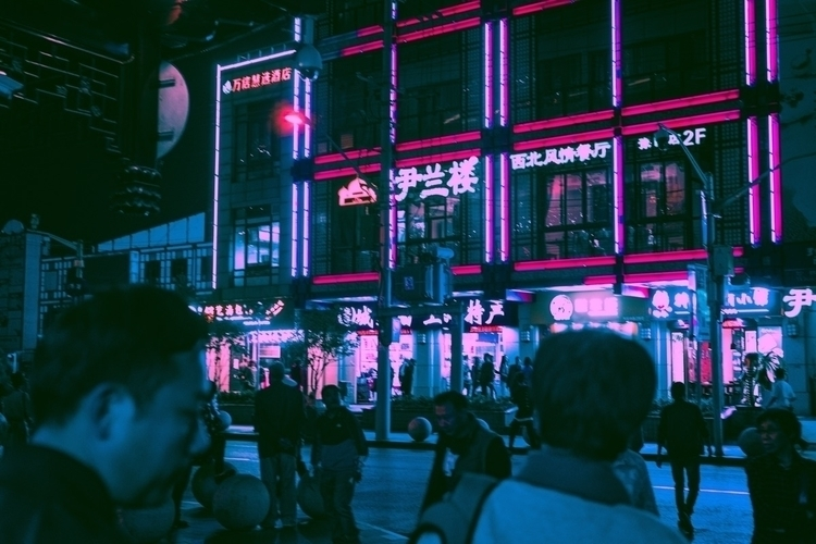 split tone street shanghai - tones - ruelights | ello