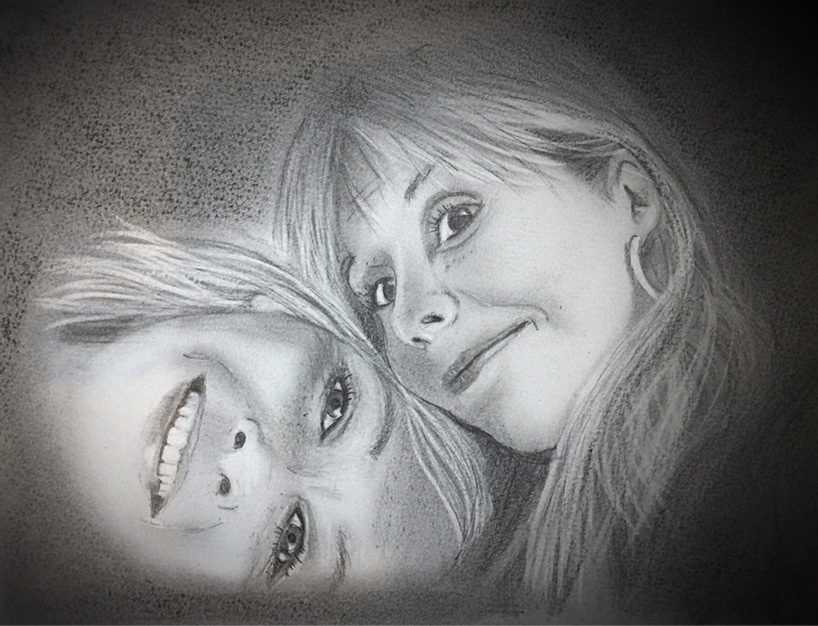 friend. Charcoal drawing - ankifahlstad | ello