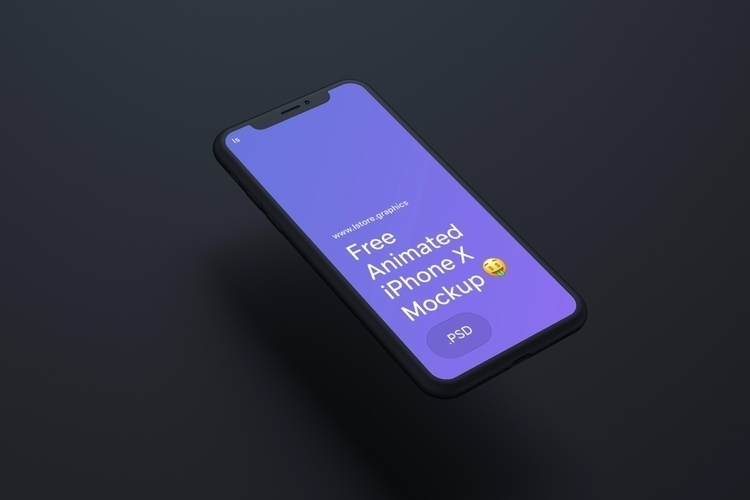 Free Animated iPhone Mockup PSD - freeuidesign | ello