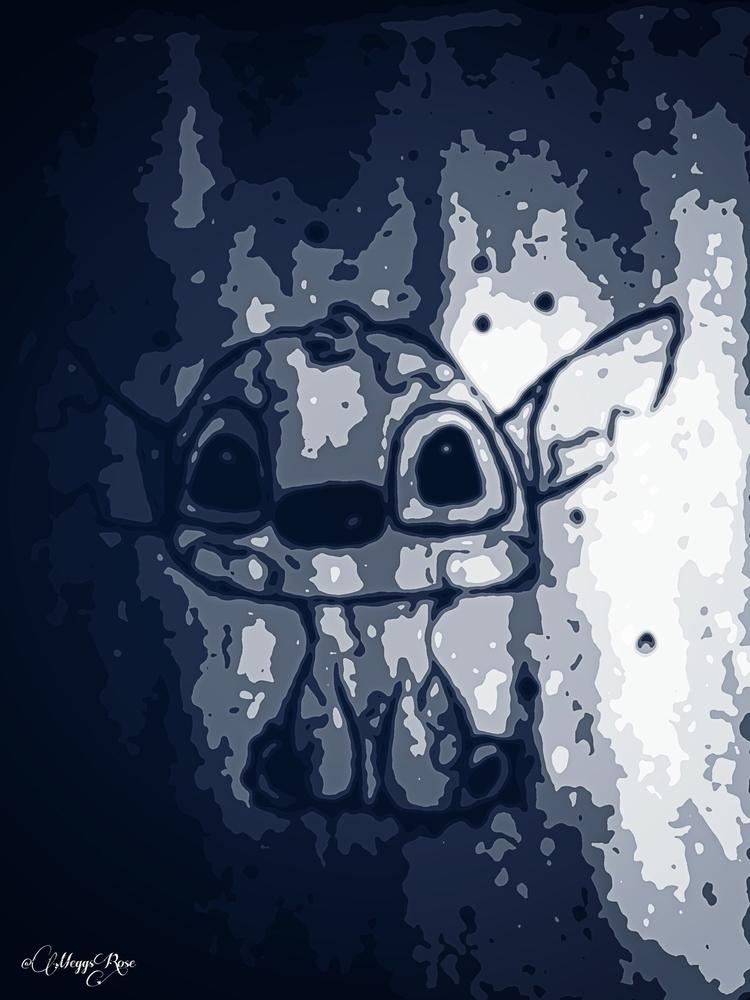 Lilo Stitch - lilo, stitch, art - megsrose | ello
