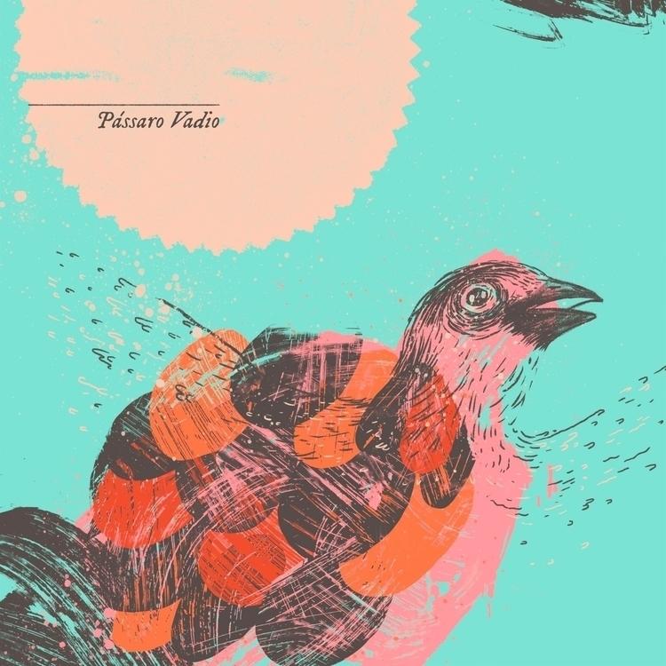 Passaro Vadio album cover - music - zansky | ello