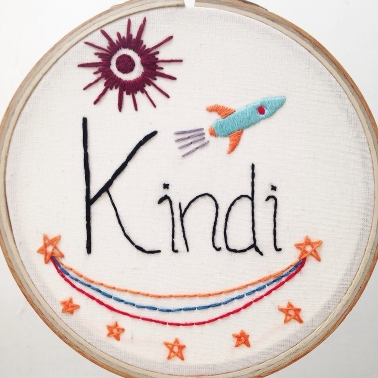 Kindi :heart:️ - embroidery, embroideryart - whoisluksi | ello