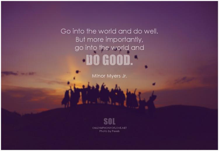 world importantly, good. - Mino - symphonyoflove | ello