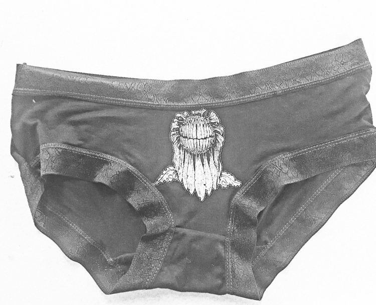 Flower Teeth panties sale etsy  - noincorporated | ello