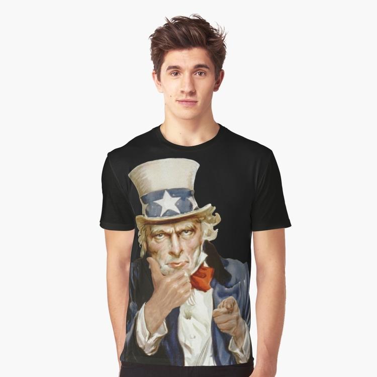 Uncle Sam giving thumbs apparel - kaimetsavainio   ello