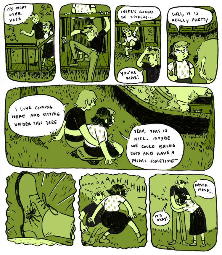 comics website - diarycomic, ink - outerspacecake | ello