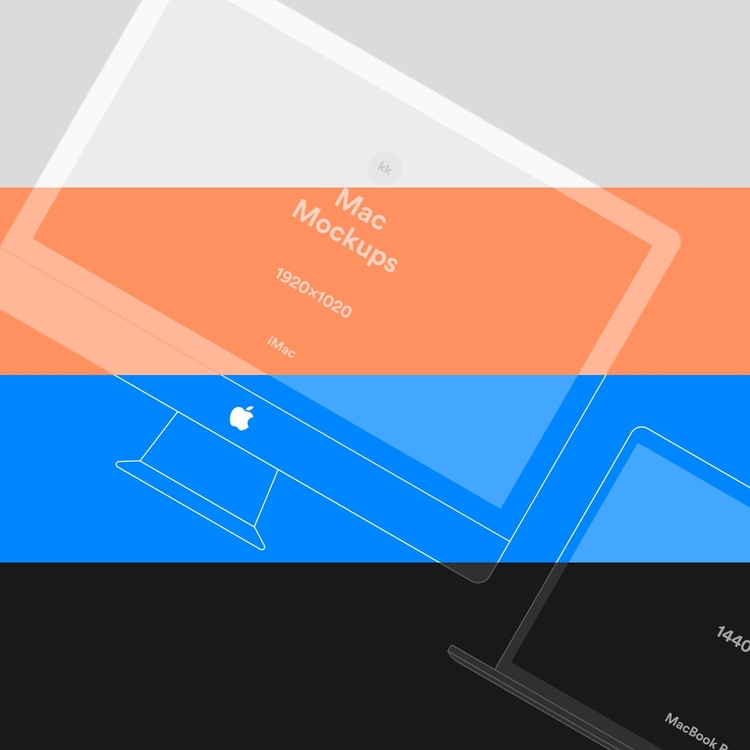 Apple Decvice Vector Mockups Fi - freeuidesign | ello