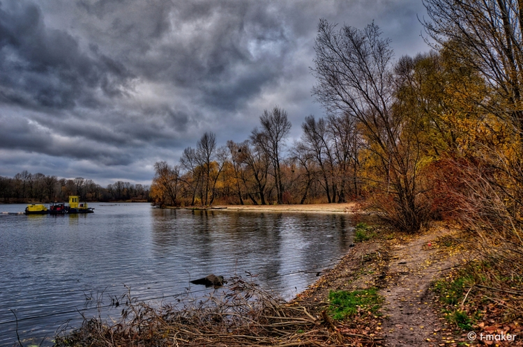 River Beach Autumn | Flickr - river - t-maker | ello