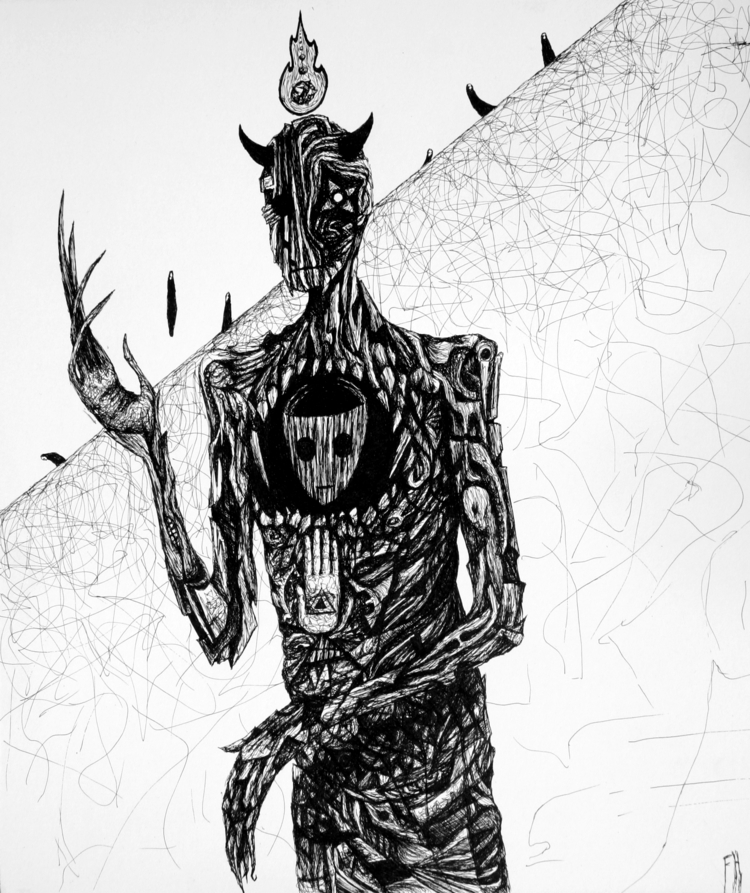 Skinned Reality Ink Bristol 11  - frankheilerart | ello