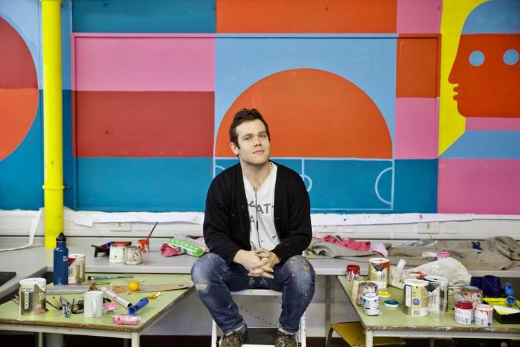 David Shillinglaw. Muralist - colettesmith | ello
