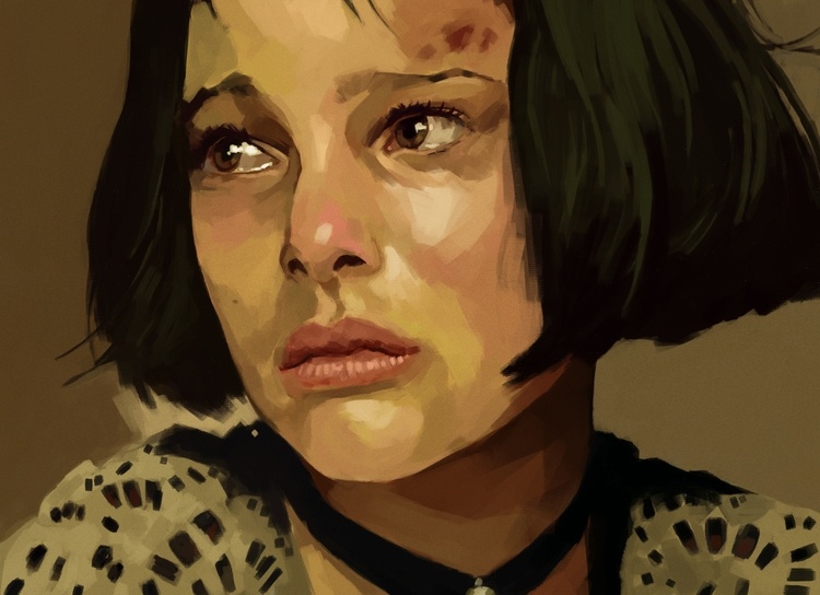 Mathilda / painting dinner - digitalpainting - mrbraintree | ello