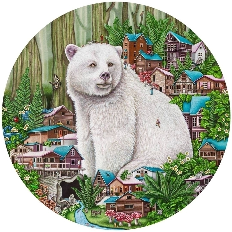 Great Bear Rain Forest painting - brandymasch | ello
