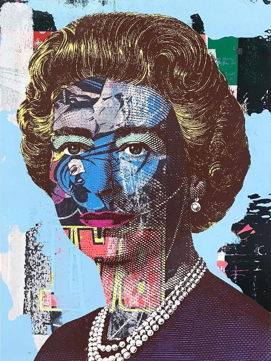 Queen Blue Greg Gossel - artwxrk | ello