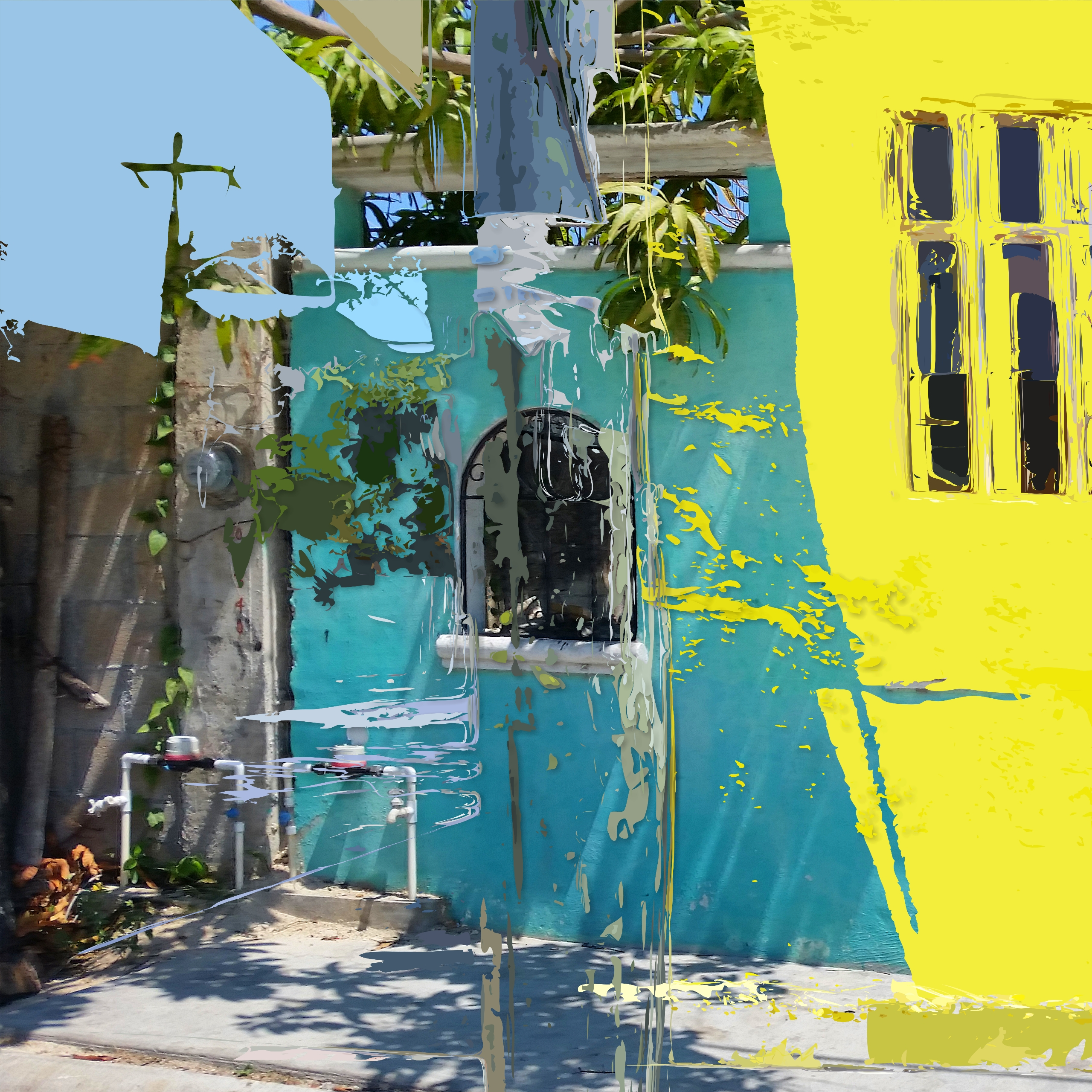 Cancun City - art, photoremix, contemporaryart - paulsmedberg | ello